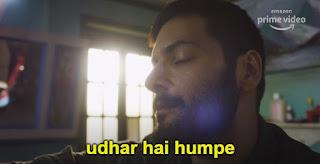 Udhar hai humpe   ali faizal as guddu bhaiya   Mirzapur 2 Meme Templates (from Mirzapur 2 trailer)