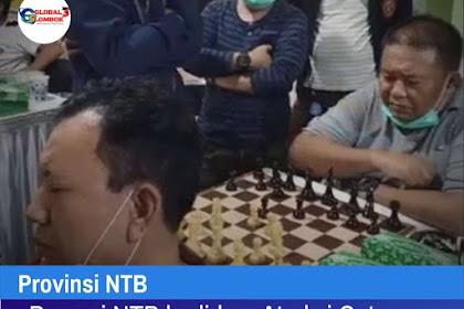 Percasi NTB hadirkan Atraksi Catur Buta di Partai Final Turnamen Catur Mi6