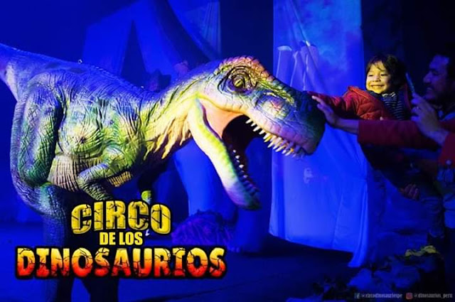Circo de los dinosaurios 2019