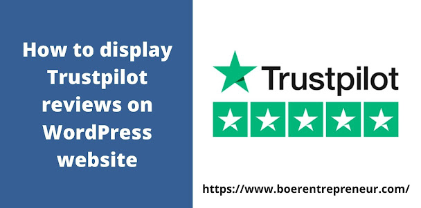 How to display Trustpilot reviews on WordPress website?