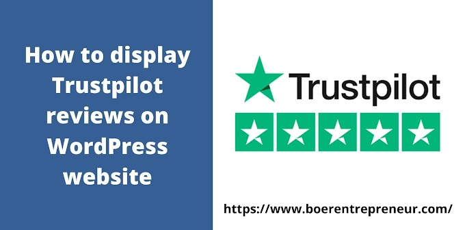 How to display Trustpilot reviews on WordPress website?