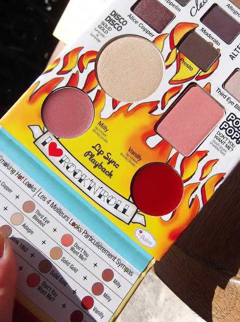 THE BALM COSMETICS - Balm Jovi Rockstar Eyeshadow and Face Palette