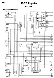 repair-manuals: Toyota Celica 1982 Wiring Diagrams