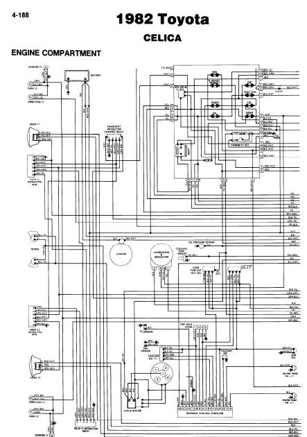 Toyota Celica 1982 Wiring Diagrams | Online Guide and Manuals