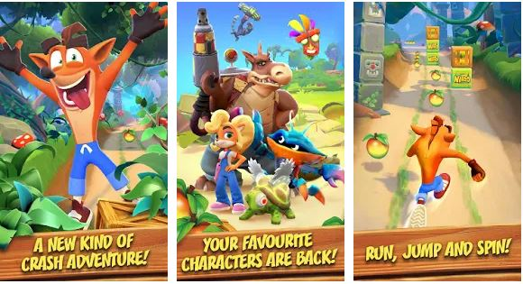 crash bandicoot apk