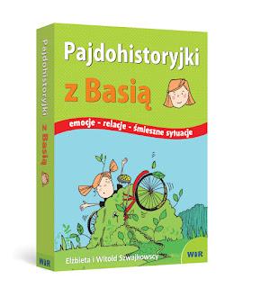 """Ilustracja książkowa """" Pajdohistoryjki  z Jasiem """" i """" Pajdohistoryjki z Basią"""""""
