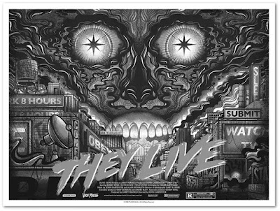 They Live Screen Print by Drew Millward x Vice Press