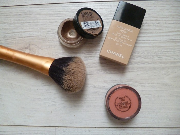 Chanel mac gemey maybelline