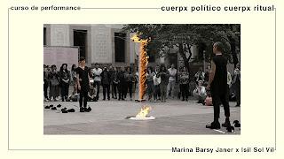curs de performance | CUERPX POLÍTICO CUERPX RITUAL amb Marina Barsy Janer x Isil Sol Vil