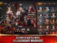 Dynasty Warriors: Unleashed MOD APK v1.0.3.5 Full Unlocked Terbaru