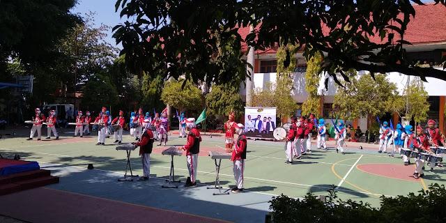 Drum Band Juara Ponorogo Meriahkan Milad Muhammadiyah