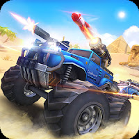 Overload: 3D MOBA Car Shooting APK MOD Unlimited Ammo