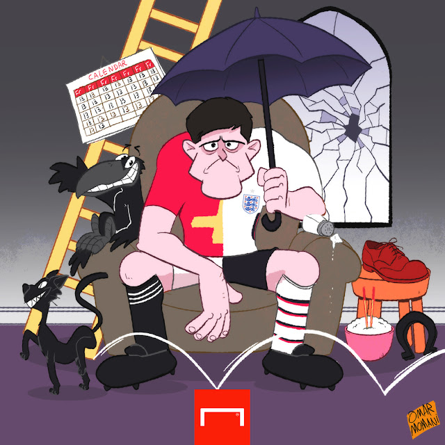Harry Maguire cartoon