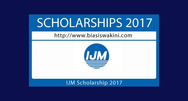 IJM Scholarship 2017