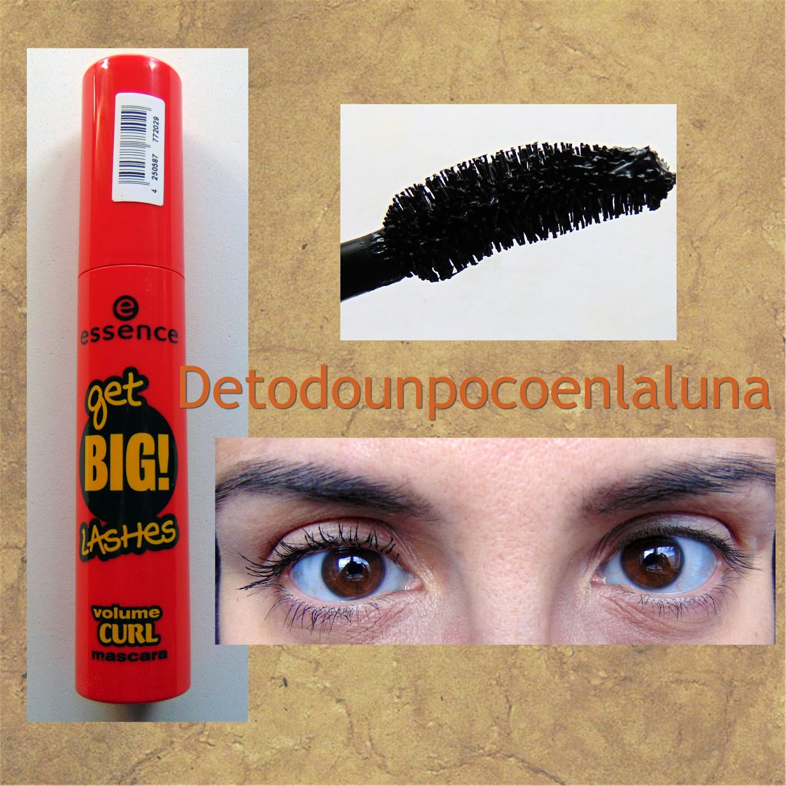 Máscara de pestañas Get Big Lashes de essence rosa