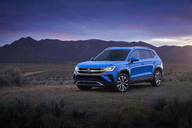 2022 Volkswagen Taos Preview