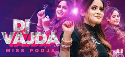DJ Vajda Lyrics - Miss Pooja   Juss Musik    Punjabi Song