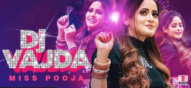DJ Vajda Lyrics - Miss Pooja | Juss Musik  | Punjabi Song
