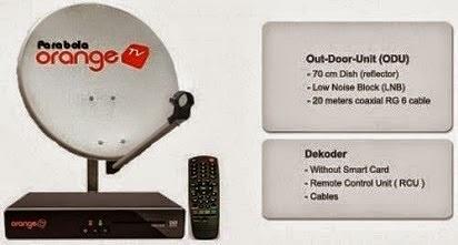 Pilihan Paket dan Cara Cek Saldo Orange TV,