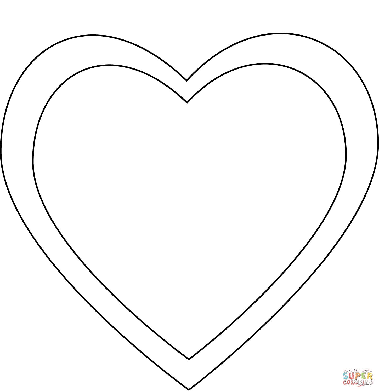 Engelsflügel Herz Malen Vorlage