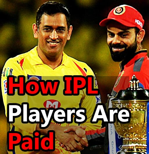 how ipl players are paid