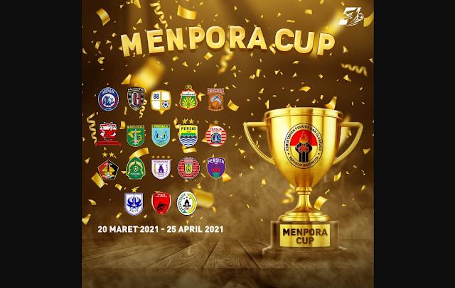 Hak Siar Channel TV Piala Menpora 2021