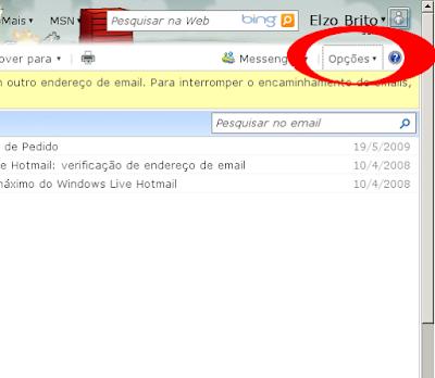 Como mudar o tipo de letra do Hotmail