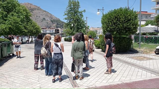 Επίσκεψη τoυ Εργαστηρίου Τρισδιάστατων Υλοποιήσεων της Ανώτατης Σχολής Καλών Τεχνών στο Άργος