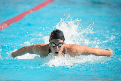 Swimming, burning fat with swimming