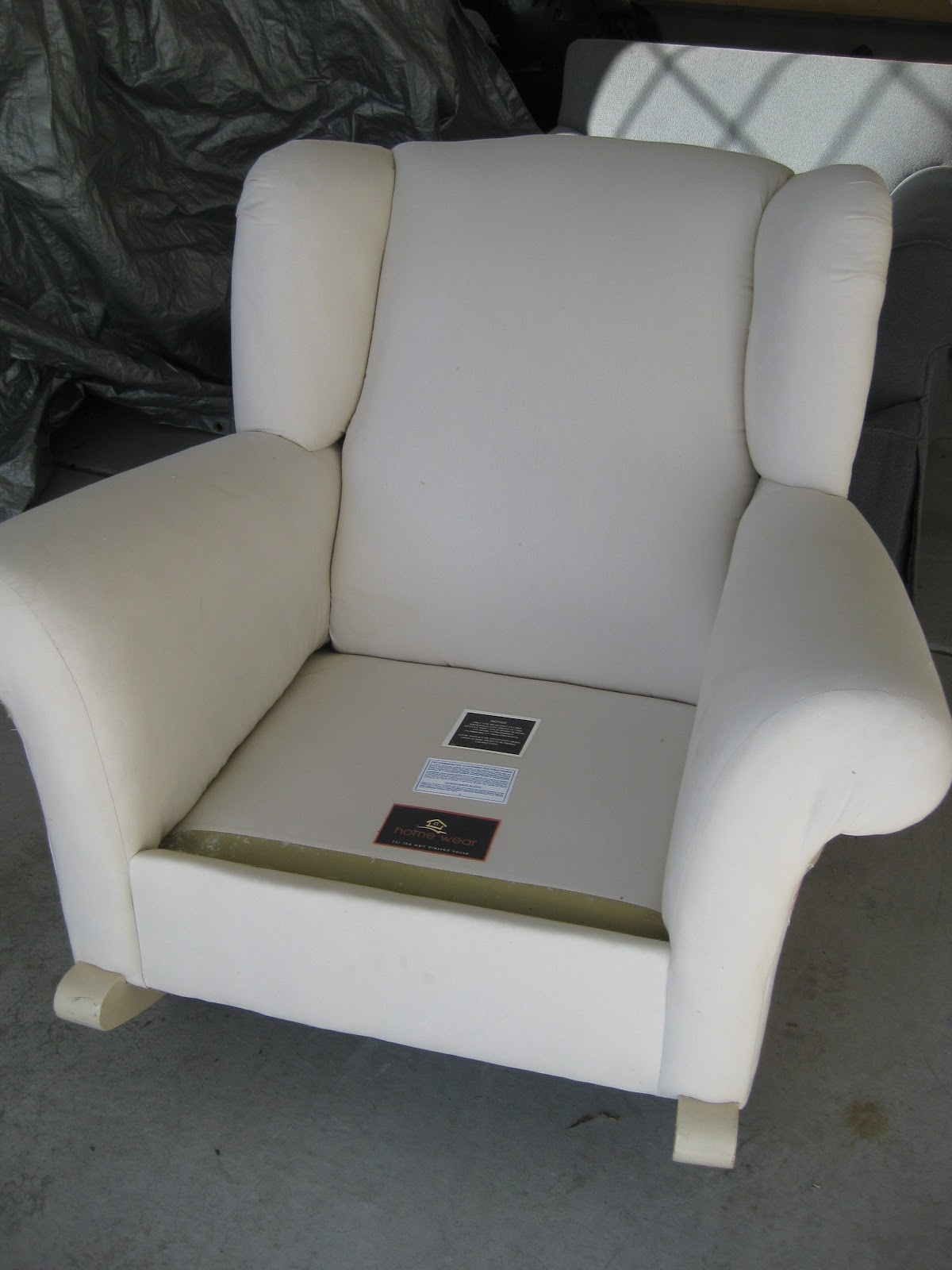 Pottery Barn Child Chair Covers Stool Height Custom Slipcovers By Shelley Upholstered Rocking
