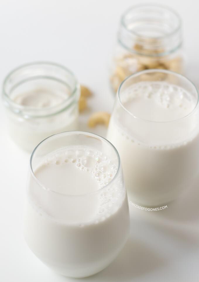 Cashew Milk   danceofstoves.com #DanceofStoves #vegan #withoutgluten #recipe