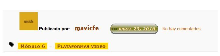 Personalizar la fecha del pie de las entradas del blog