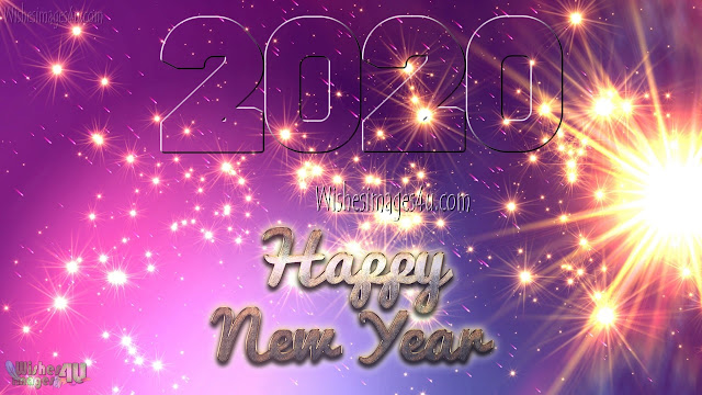 Happy New Year 2020 HD Sparkling Pictures Download Free