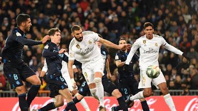 Liga Spanyol: Madrid Hancurkan Sociedad 3-1