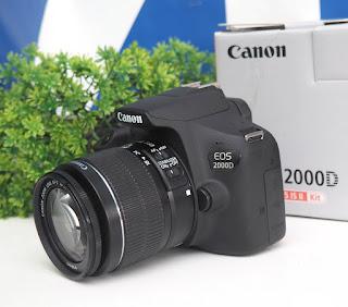 Kamera Canon eos 2000D Wi-Fi Bekas