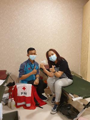 Gelar Aksi Donor Darah Sukarela, Riana Sari Arinal Apresiasi Hotel Golden Tulip Springhill