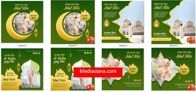 Template Ucapan Hari Raya Besar Islam Gratis