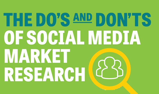 The Do's and Don'ts of Social Media Market Research