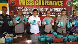 Polresta Barelang Amankan 28,6 Kg Sabu Jaringan Lapas Palembang