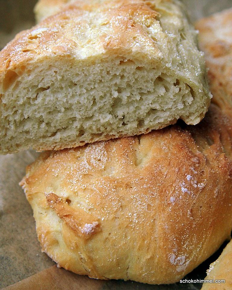 Experimente aus meiner Küche: Grieß-Baguette #breadbakingfriday