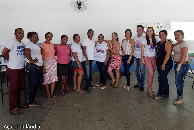 ESF Thiago Marques desenvolve ações do Outubro Rosa