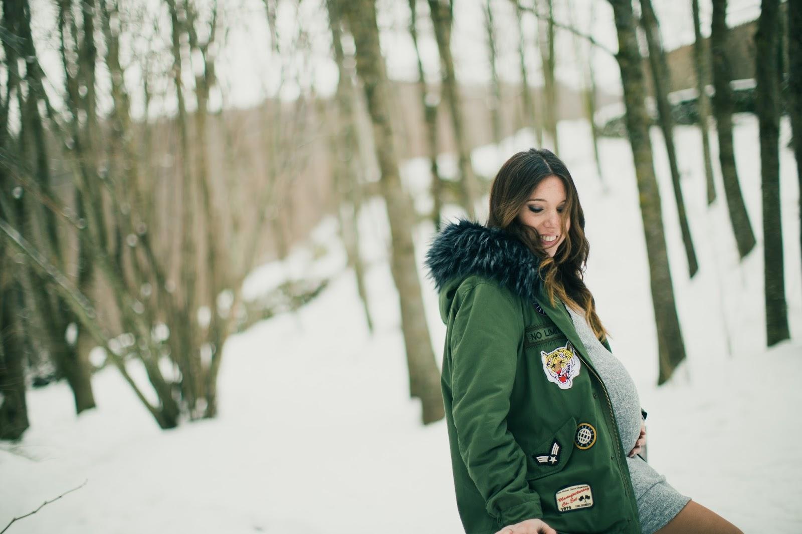 ff9305bda Dulce espera +Sesión embarazo en la nieve - Sweet Carol - Blog