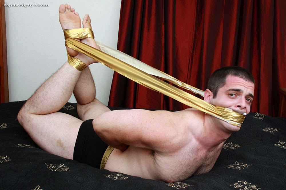 Men in barefoot bondage