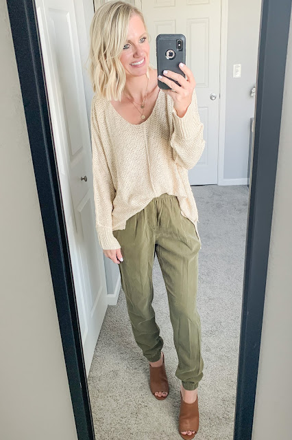 How to Style Dressy Joggers