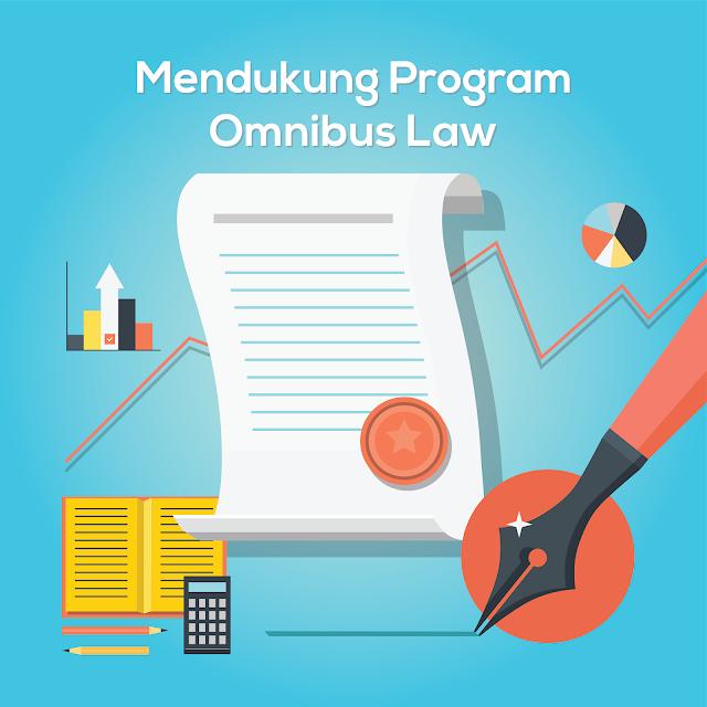 Dukung Program Omnibus Law Untuk Kemajuan dan Kesejahteraan Bangsa Indonesia