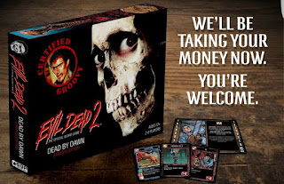 Evil Dead 2 Board Game apertura