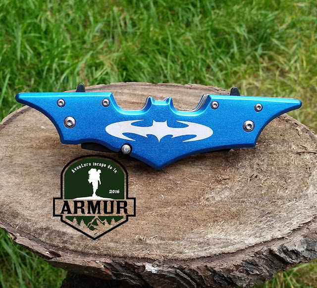 Briceag Batman cu 2 lame
