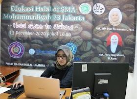 Uhamka Gelar Halal Goes to School