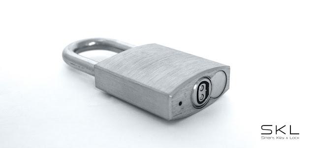 Candado electrónico para seguridad en transporte