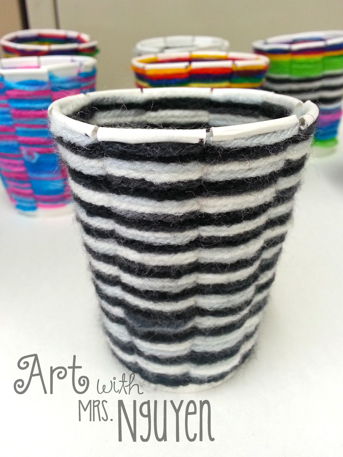 cup weaving 2 0 4th art with mrs nguyen